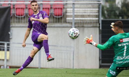 SOCCER - 2. Liga, A.Klagenfurt vs FAC