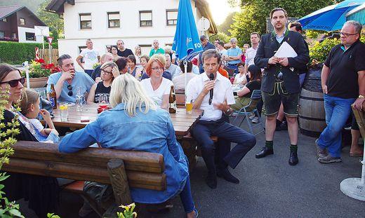 Bürgerversammlung vor drei Wochen in Arndorf