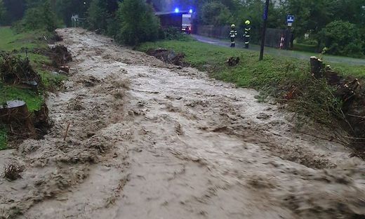 Unwetter in Murau