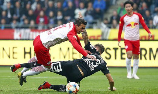 FUSSBALL TIPICO-BUNDESLIGA / MEISTERRUNDE: SK PUNTIGAMER STURM GRAZ - RED BULL SALZBURG