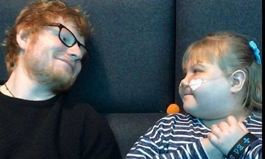 Ed Sheeran trauert um elfjährigen Super-Fan