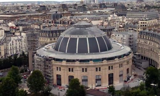 Die ehemalige Handelsbörse in Paris wird zum Museum
