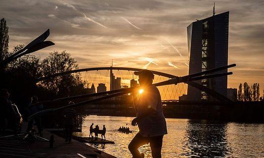 Die EZB oin Frankfurt
