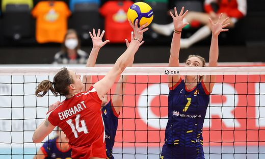 VOLLEYBALL - CEV EuroVolley 2021, AUT vs ESP