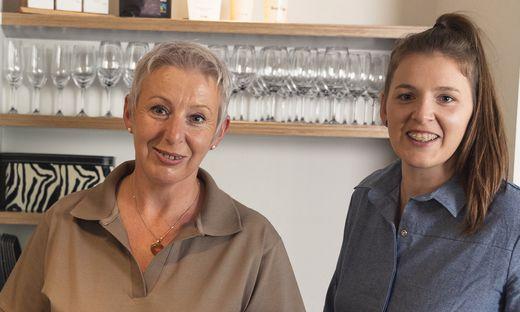 Julia Thörisch betreibt Mitten in Graz ein neues Brunch-Lokal, Mama Hildegard steht helfend zur Seite