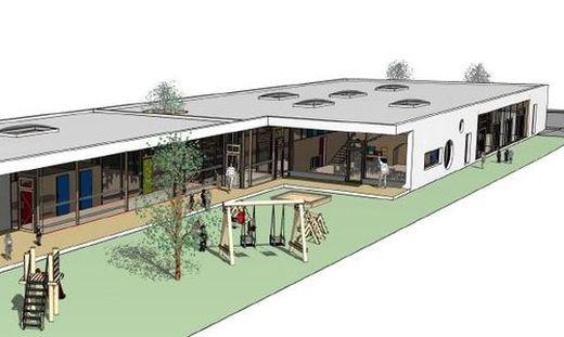 So könnte der neue Kindergarten in Premstätten aussehen
