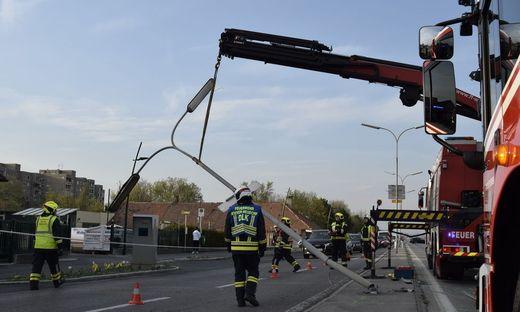 Unfall in Wiener Neudorf