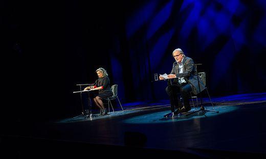 Brigitte Karner und Peter Simonischek begeisterten das Publikum für den guten Zweck