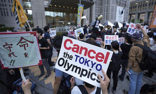 Tokio, Proteste
