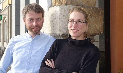 Sabine Aigner und Helmut Schlatzer