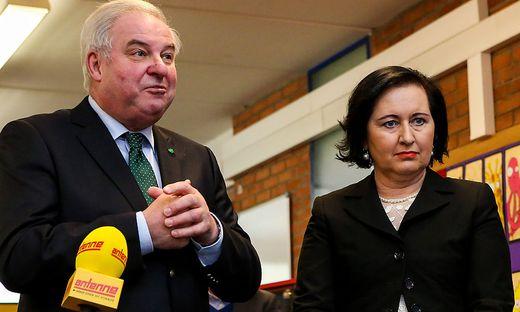 VP-Chef Hermann Schützenhöfer ist größter Förderer von Elisabeth Meixner.