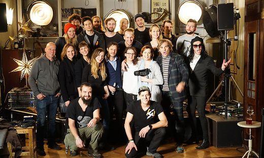 Granada, Hohenlohe und das Team von Red-Bull-Music