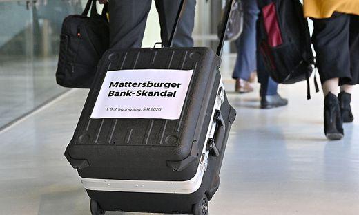 COMMERZIALBANK MATTERSBURG - UNTERSUCHUNGSAUSSCHUSS