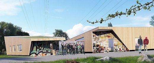 So wird das neue Jugendzentrum Grünanger aussehen
