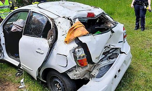 Der Unfall geschah am Mittwoch