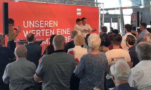 Rendi-Wagner und Schickhofer