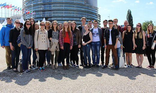 Die HAK Liezen war mit 24 Schülerinnen und Schüler am EYE vertreten