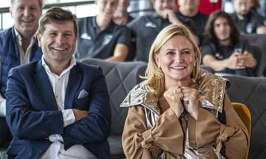 Stimmungsfotos WAC Auslosung UEFA Europa League Gruppen - Wolfsberg Oktober 2020