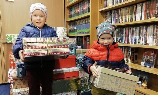 Weihnachten im Schuhkarton in Hermagor