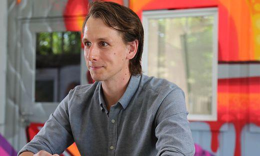 Paul Krall (31), Finanzchef bei Österreichs wertvollstem Start-up, dem Nachhilfeanbieter GoStudent