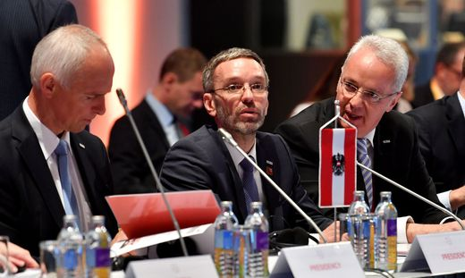 EU-RATSVORSITZ - INFORMELLER EU-RAT JUSTIZ UND INNERES: KICKL