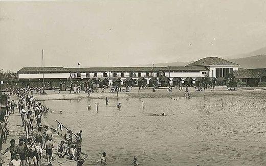 Das Strandbad im Jahre 1931
