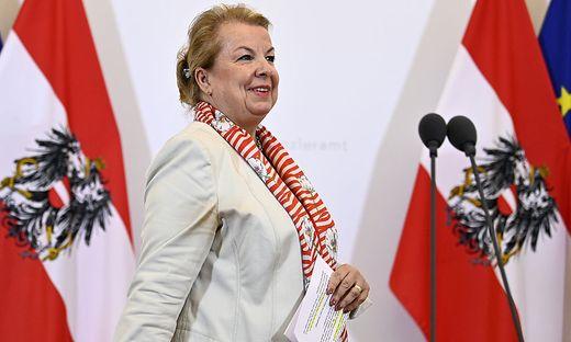 Ex-Sozialministerin Beate Hartinger-Klein (FPÖ)
