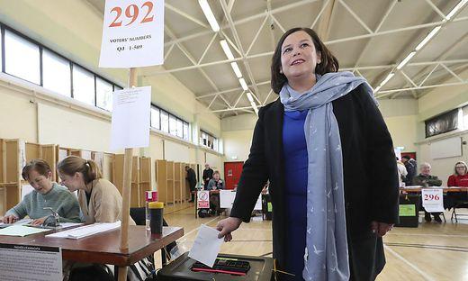 Sinn-Fein-Parteichefin Mary Lou McDonald