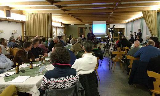 Bürgerinformation im Gasthaus Liegl in Eberstein