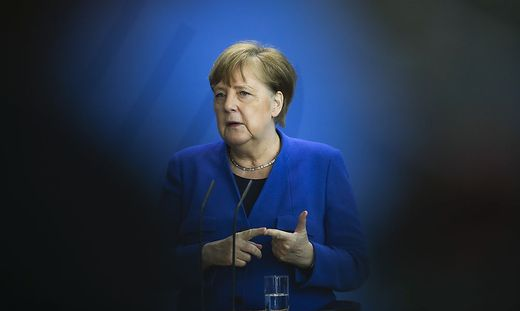 Coronavirus - Pressekonferenz Merkel