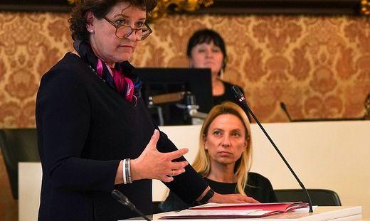 Ursula Lackner und Juliane Bogner-Strauß