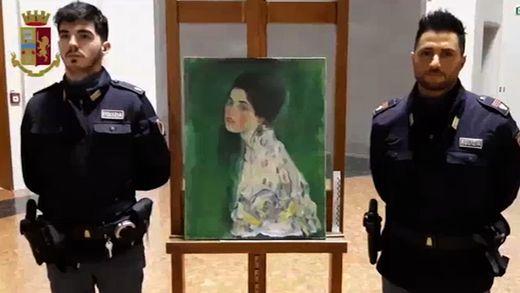 International In Italien wiedergefundenes Klimt-Gemälde ist echt