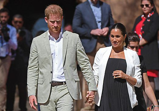 Die britischen Royals, im Bild Prinz Harry und Meghan, wehren sich gegen Internet-Übergriffe