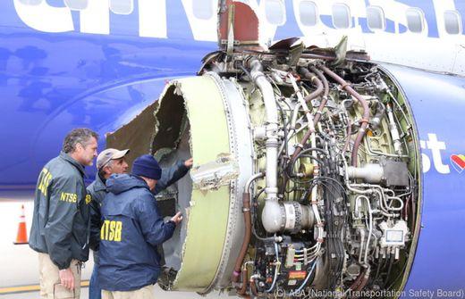 Zwangspause für Hunderte Flugzeuge nach Triebwerksexplosion