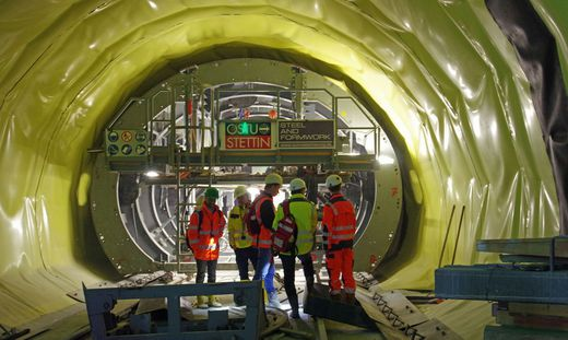 Unfall im Semmering-Basistunnel