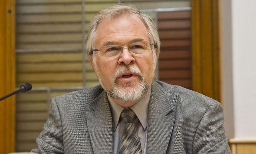 Völkerrechtsexperte Wolfgang Benedek