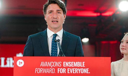 Das Ergebnis gebe ihm ein klares Mandat für eine Regierungsbildung, so Trudeau