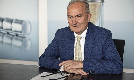Johann Marihart (70), seit 1992 Chef des Agrana-Konzerns