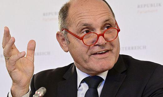 Nationalratspräsident Wolfgang Sobotka