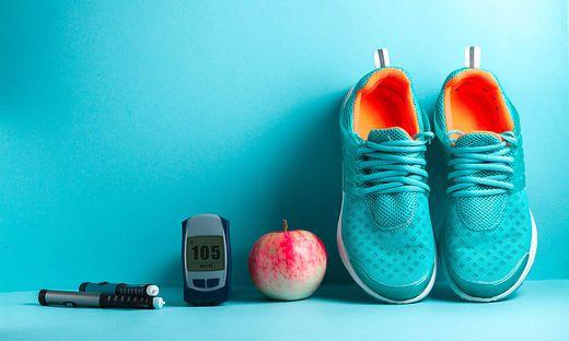 Immer im Blick: Sportler mit Diabetes müssen ihre Werte genau beobachten.