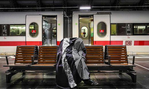 In Deutschland steht der Großteil des Fernverkehrs still