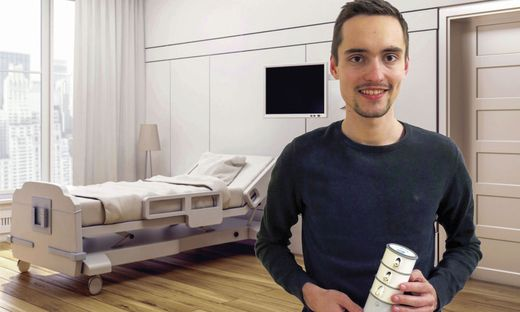 """Will mit """"Elly"""" Pflegebedürftigen helfen: Andreas Frankl"""