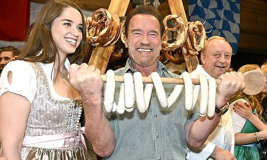 Arnold Schwarzenegger mit Tochter Christina