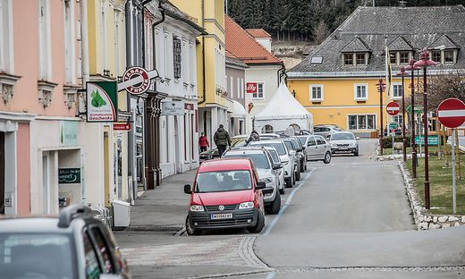 Eine Abriegelung von Bad St. Leonhard ist für die Behörde kein Thema