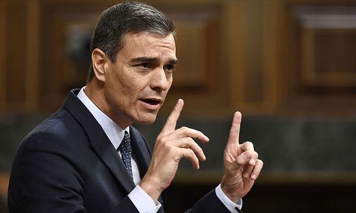 SPAIN-POLITICS-PARLIAMENT-GOVERNMENT-DEBATE