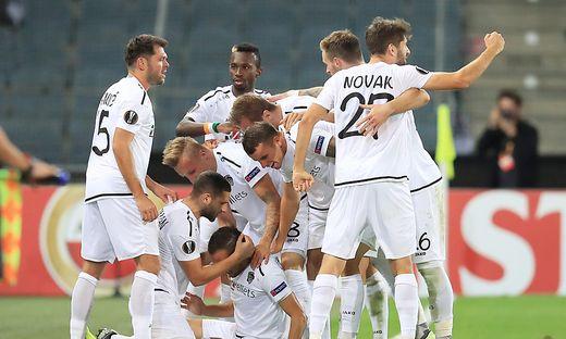 SOCCER - UEFA EL, WAC vs Roma