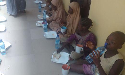 Befreite Schüler in Nigeria