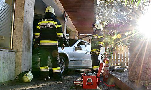Die Feuerwehr stand im Einsatz