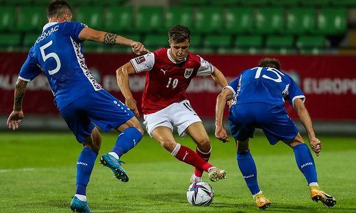 SOCCER - FIFA World Cup 2022 quali, MDA vs AUT