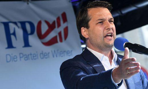 Der aktuelle Chef der Wiener FPÖ, Dominik Nepp